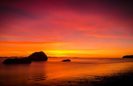 Красивые картинки про закаты на рабочий стол (130 фото)