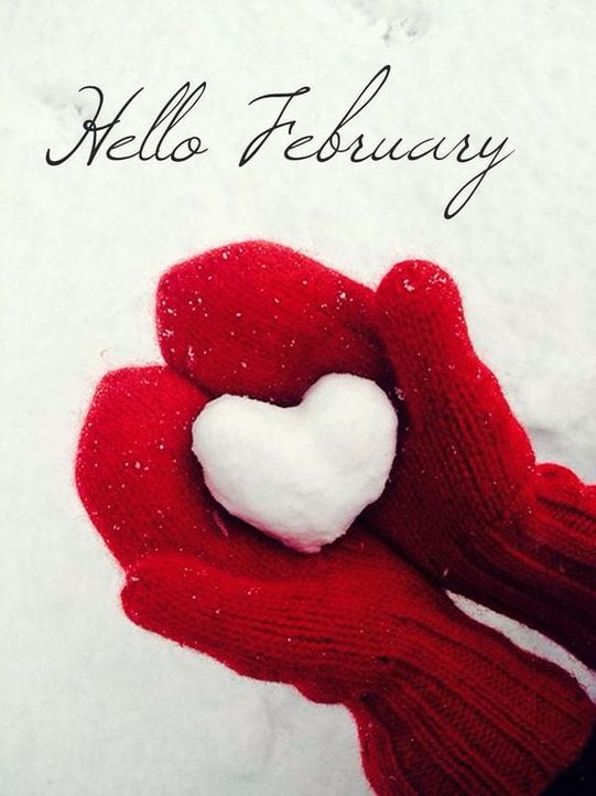 Красивые картинки про февраль (69 фото)