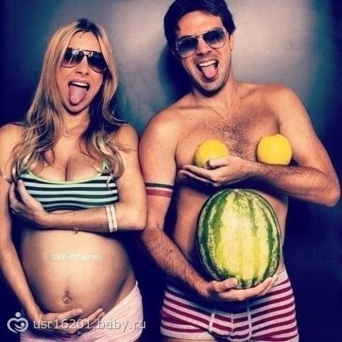Прикольные картинки про беременность (66 фото)