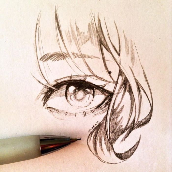 Картинки глаза аниме (120 фото)
