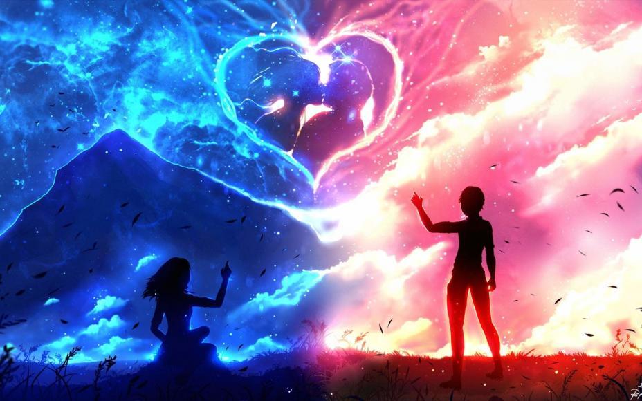 Аниме картинки про любовь (180 фото)